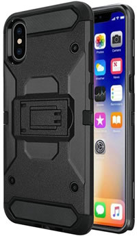 iPhone XR Rugged Clip Case